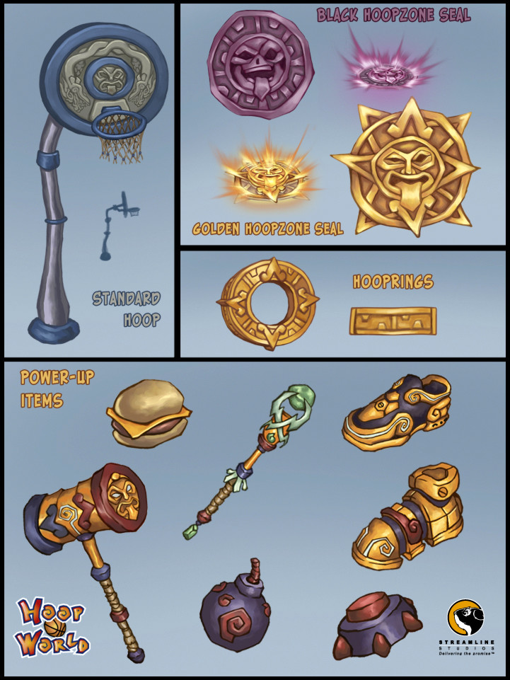 Prop and power-up designs