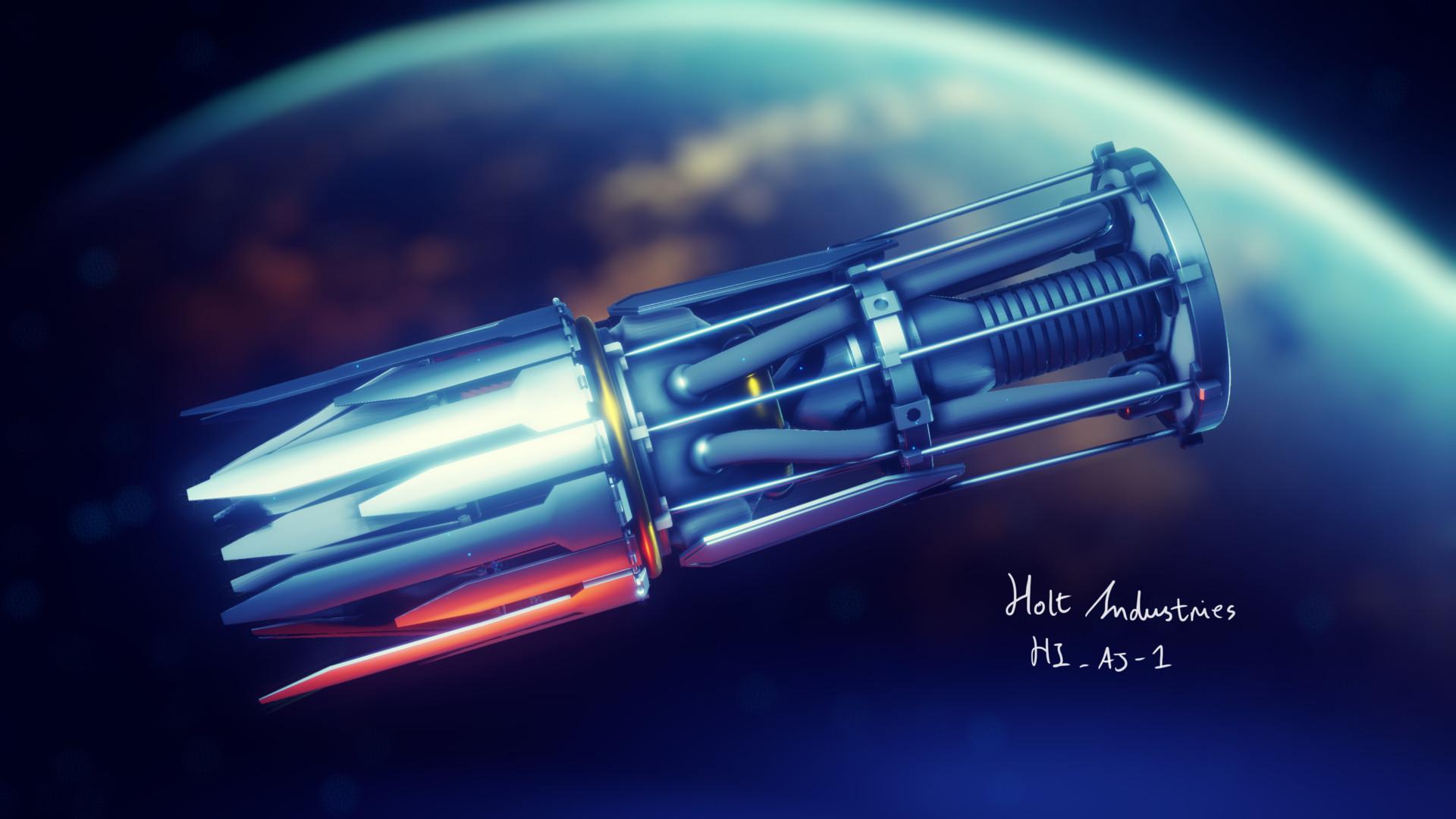 Curtis James Holt - 3D Artist - HOLT INDUSTRIES - HI_AJ-1 ...