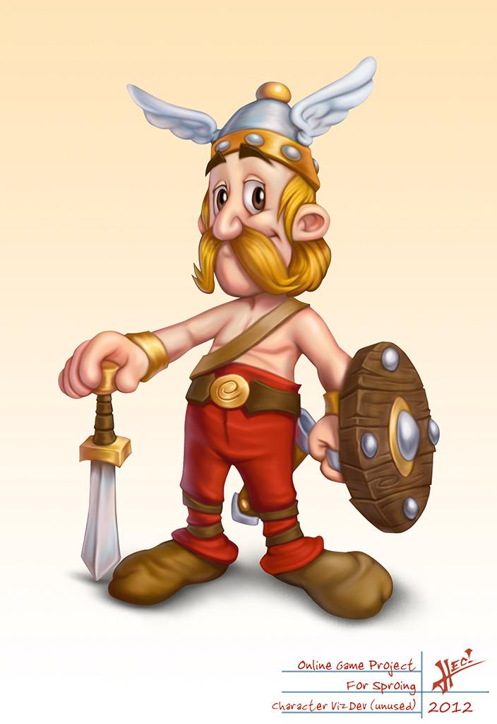 Asterix And Friends avatar design
