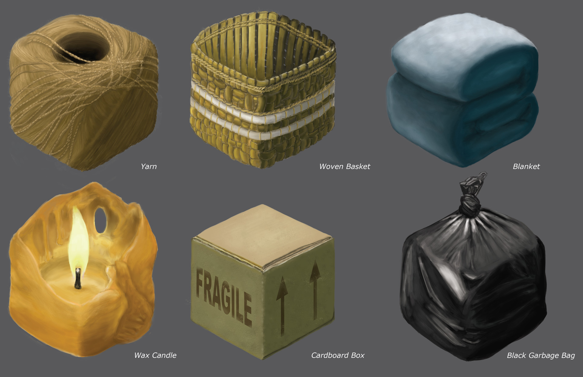 Chris qing qing zhao elements of digital painting texture studies 8