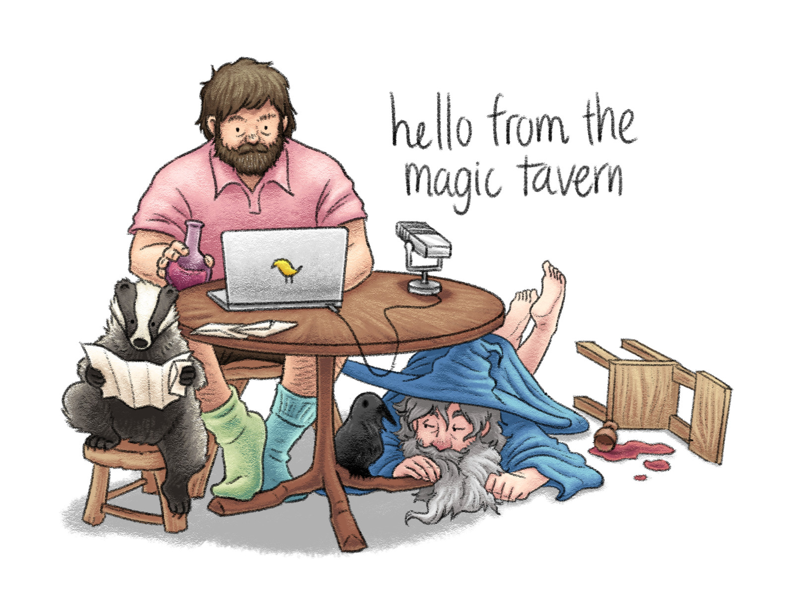Hello (again) From The Magic Tavern