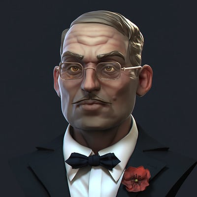 Dirk wachsmuth male portrait render 4web