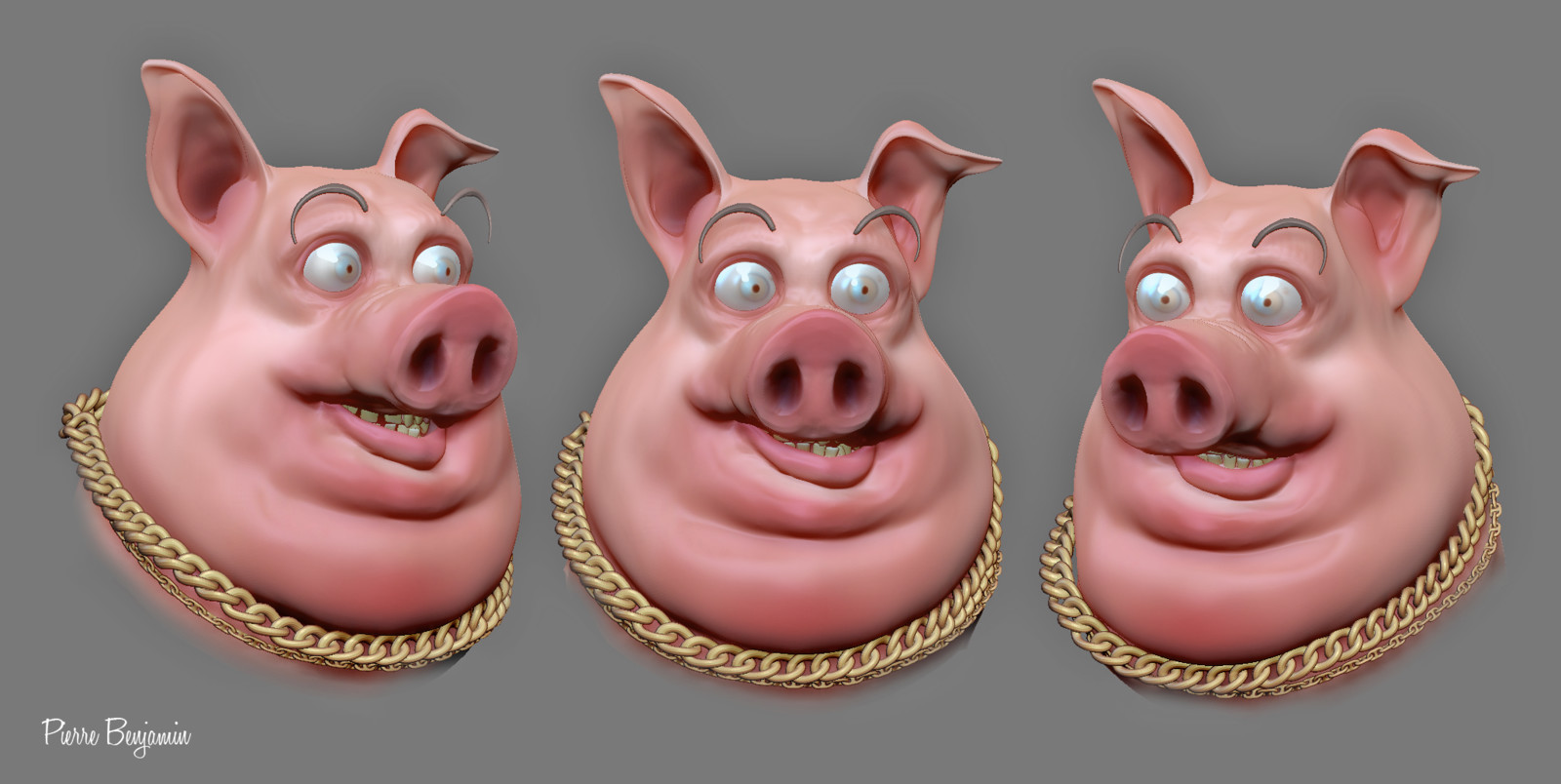 Pig speed sculpt