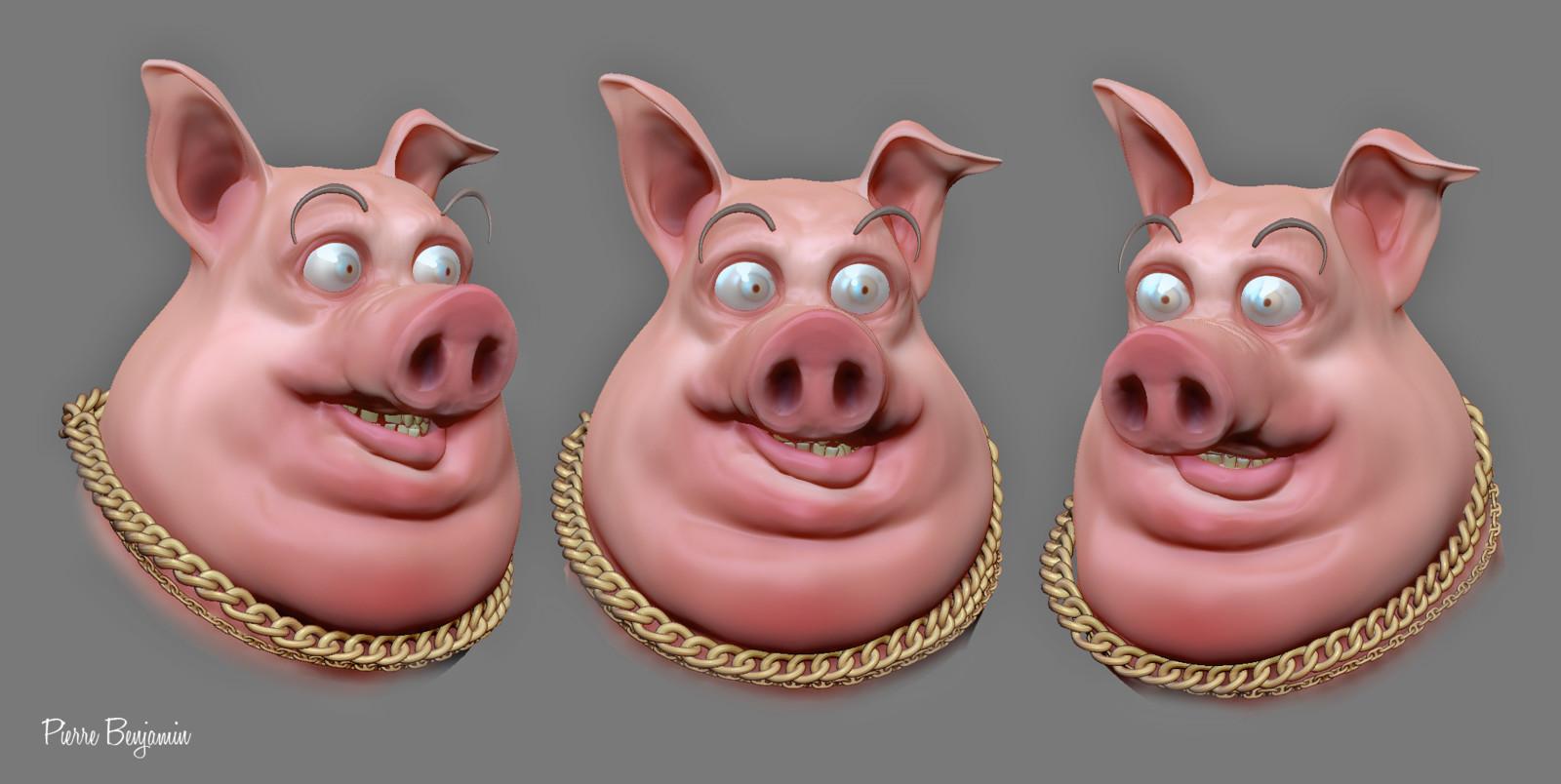 Pig speed sculpt