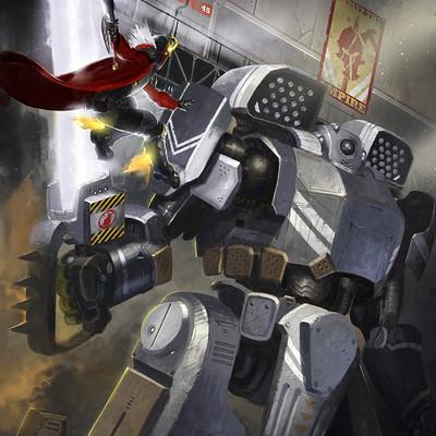 Michael rookard slayde v robot f4