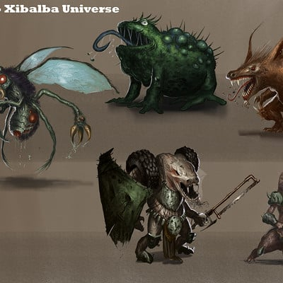 Michael rookard bestiary compiled2