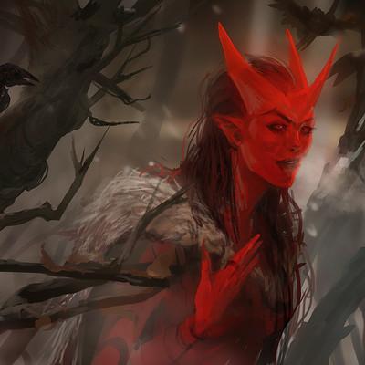 Sandra duchiewicz red crow