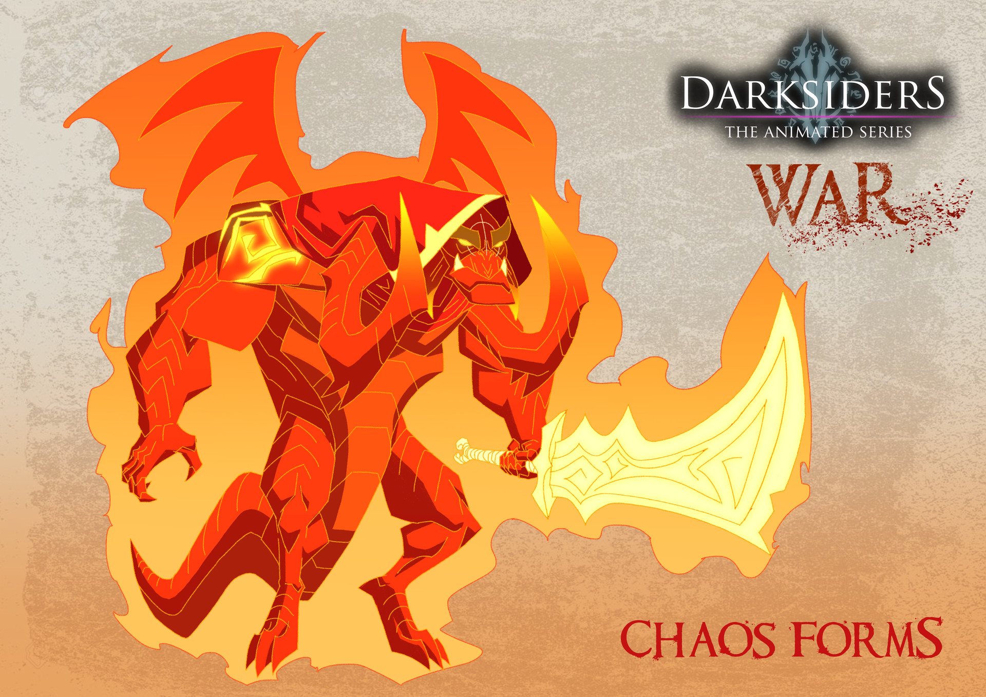 ArtStation - Darksiders War Chaos Form, Timothy De Guzman