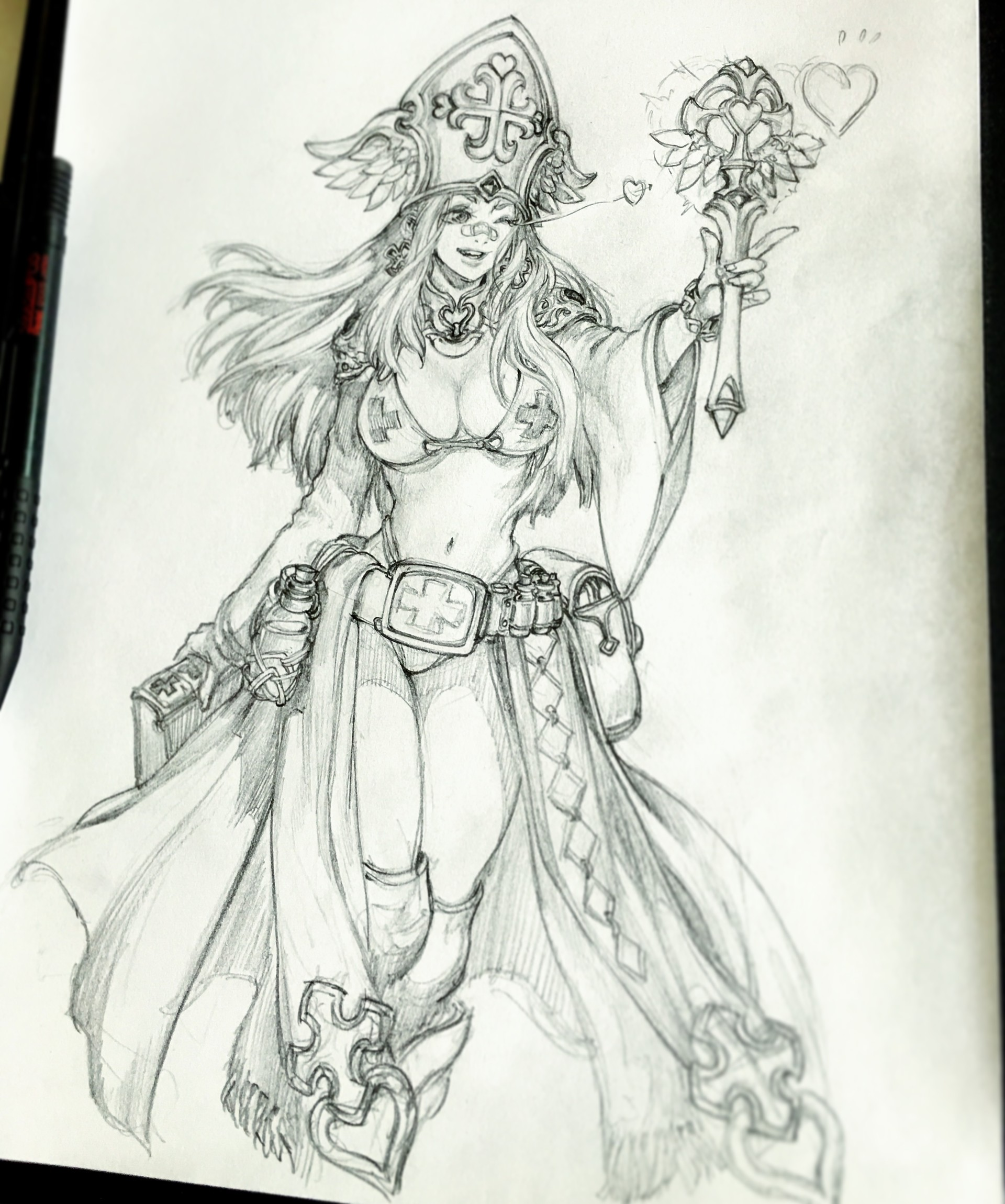 Character Design Sketchbook : Stato ozo fantasy character sketches