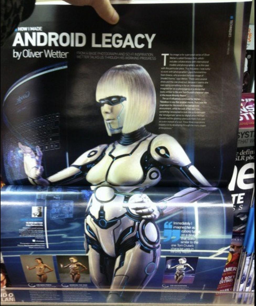 Advanced Photoshop Magazine feature
