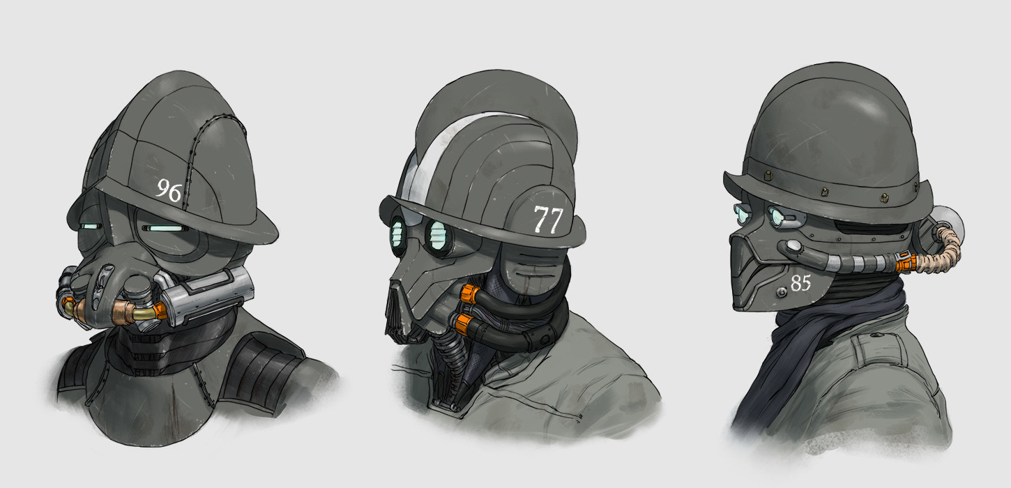 Morion Guard concepts