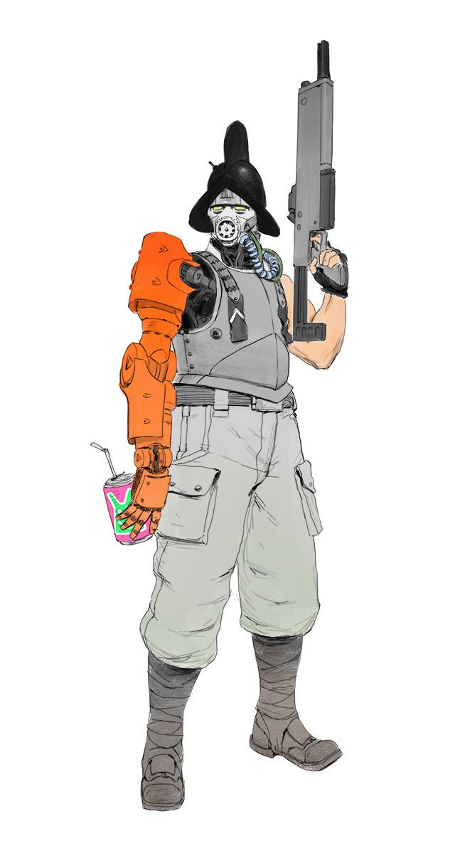 Morion Guard concept