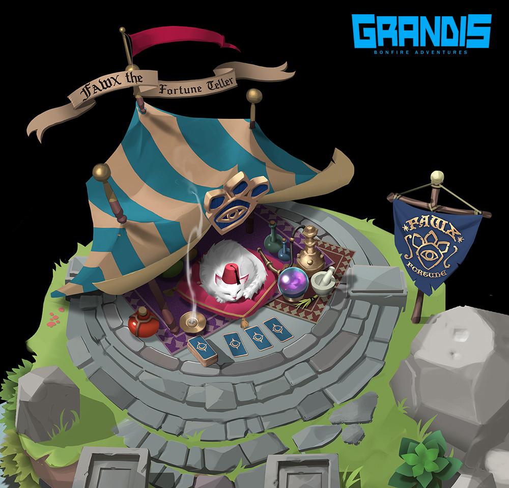 GRANDIS RPG Concepts