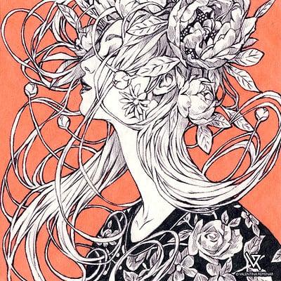 Valentina remenar inktober serenity by valentina remenar