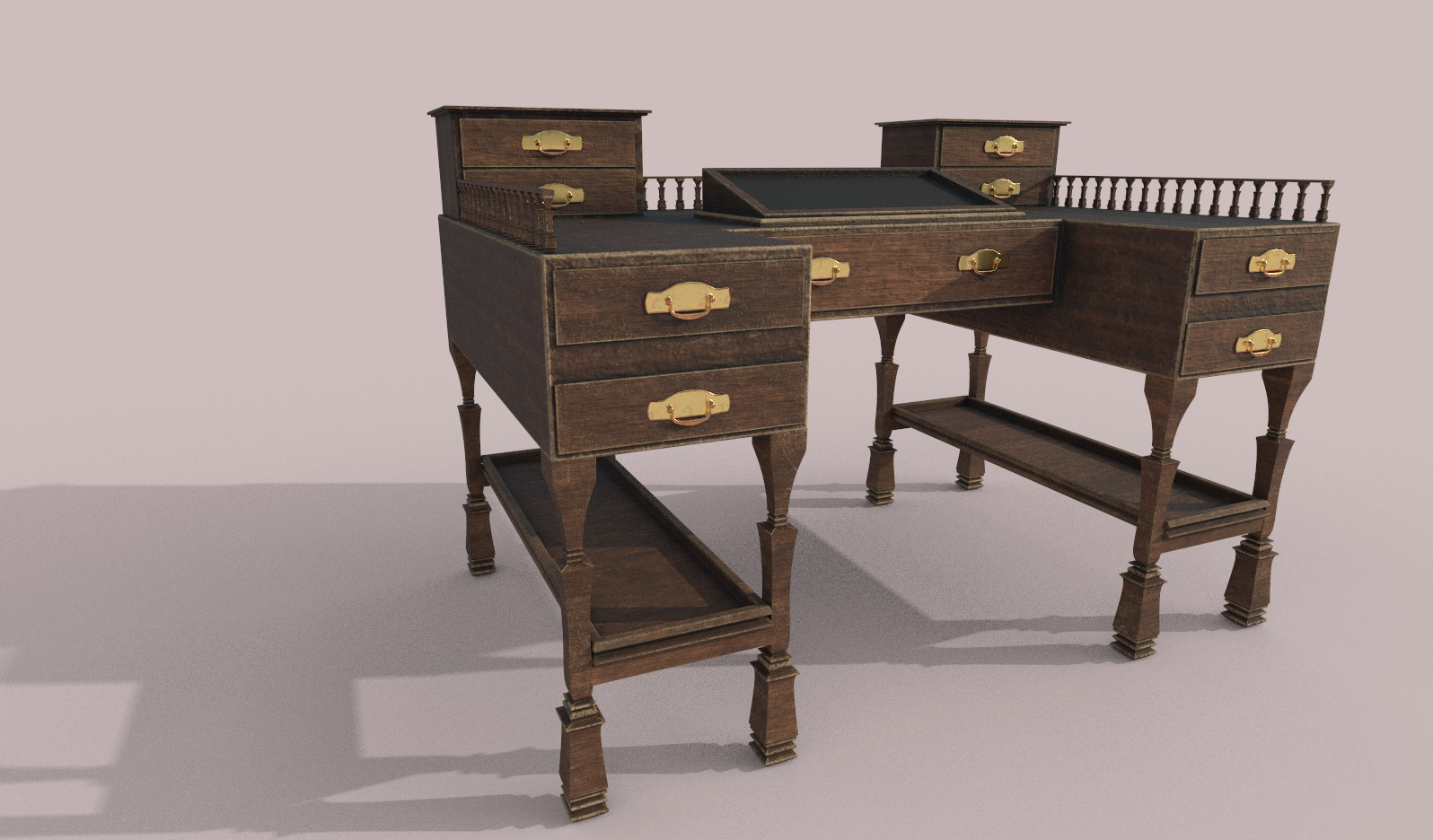 Victorian Drawing Desk