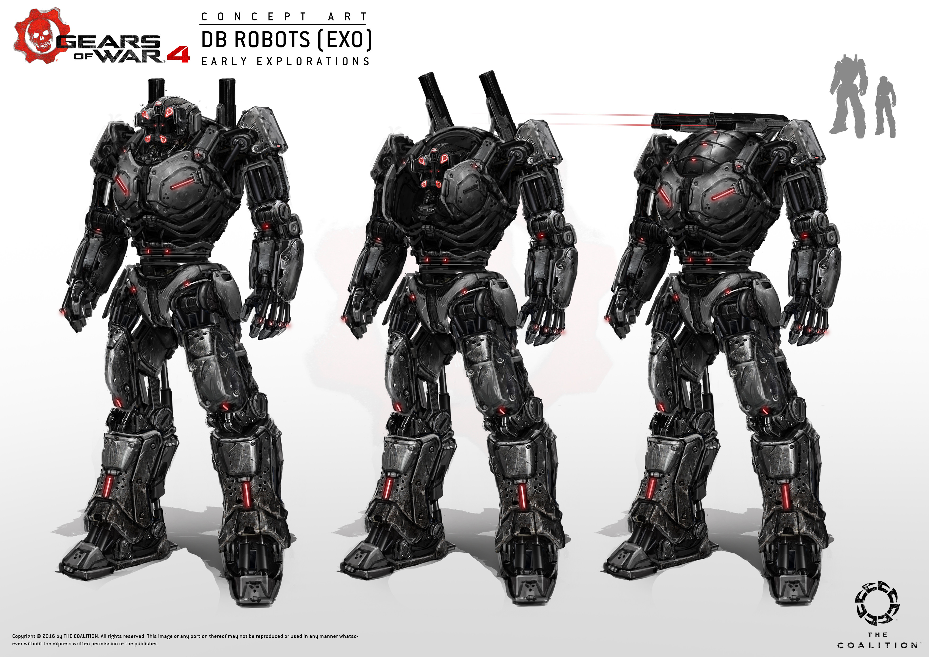 Early explorations of the exo suit