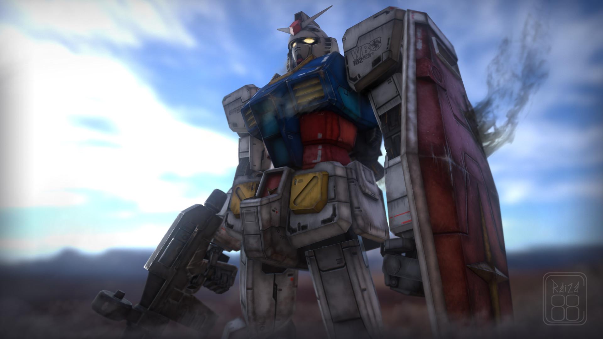Artstation Gundam Rx 78 2 Vito Bellomo