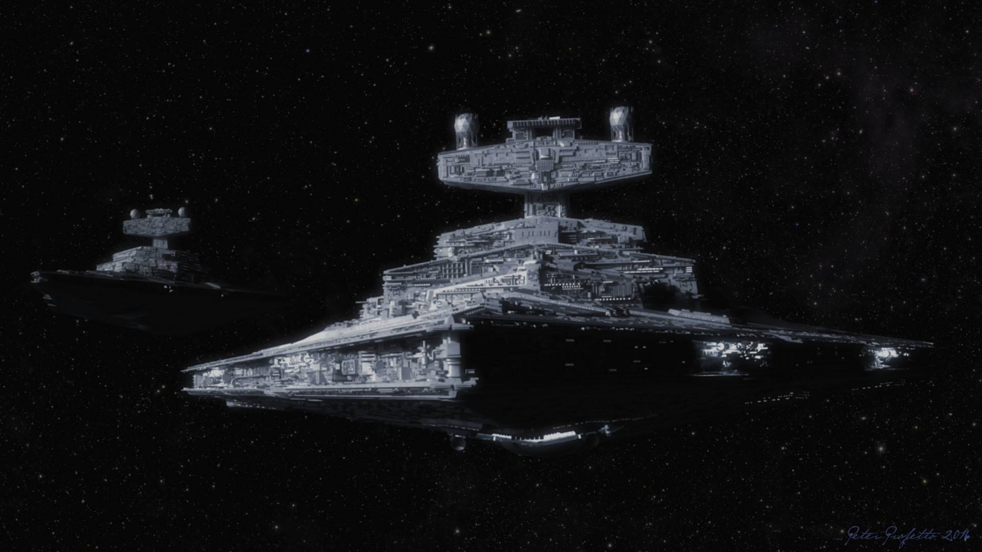 Artstation Star Destroyers From Star Wars Peter Profetto