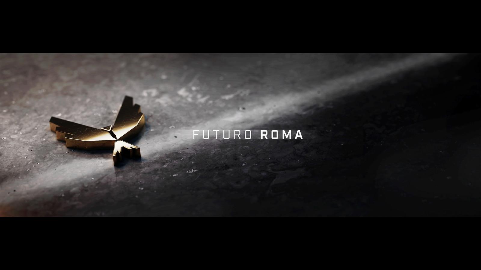 Futuro Roma Style Frame