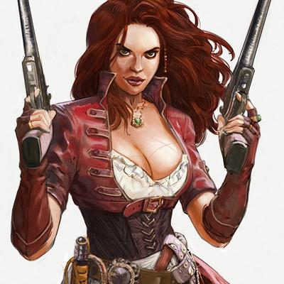 Pierre santamaria femme pirate 2b