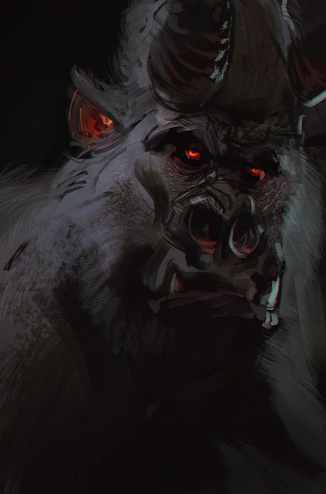 Pierre santamaria demon gorilla 2 copie