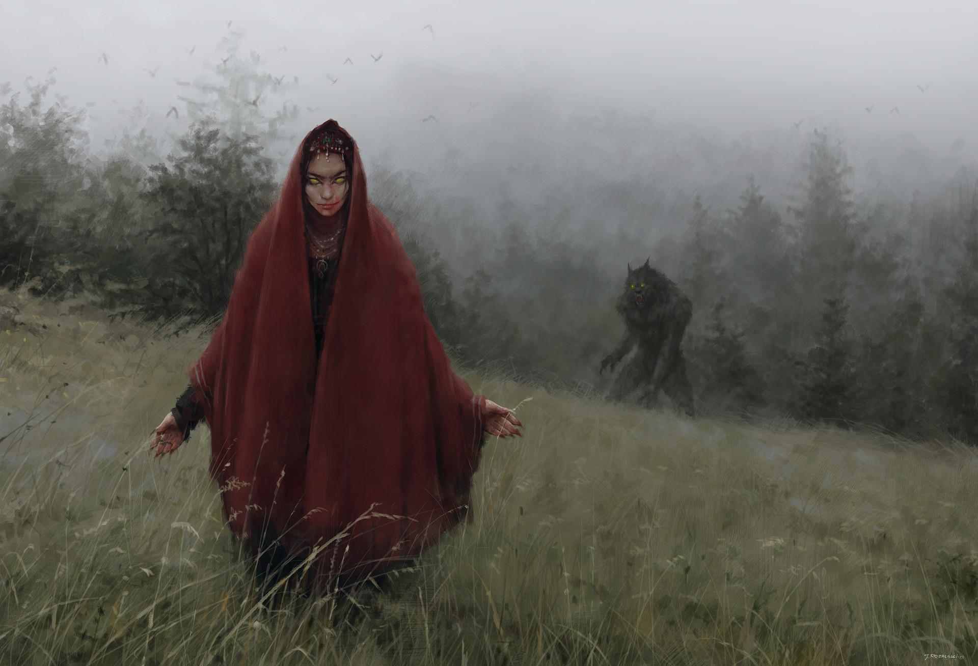 red riding hood : creepy