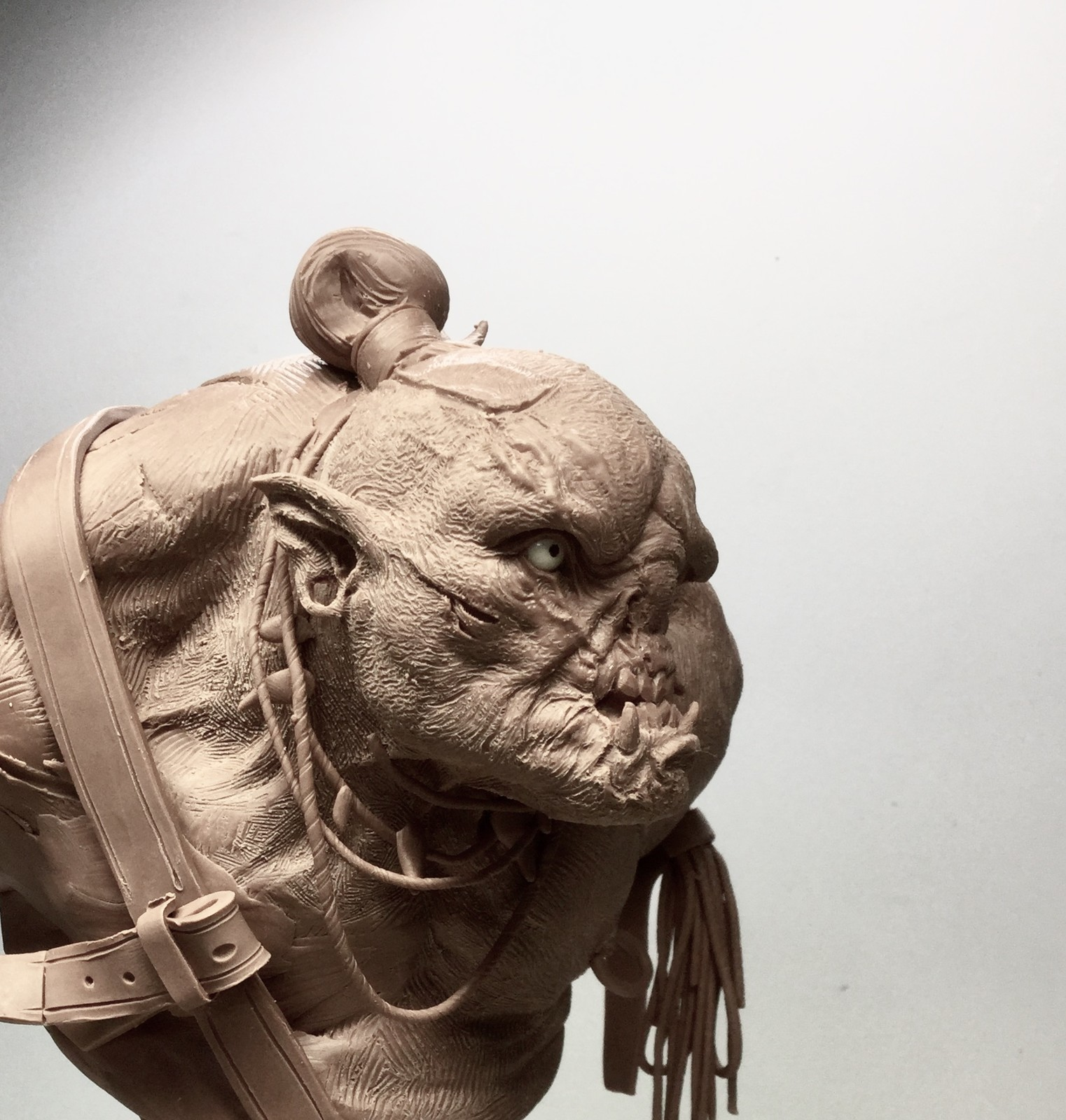 Orc/ Monster clay