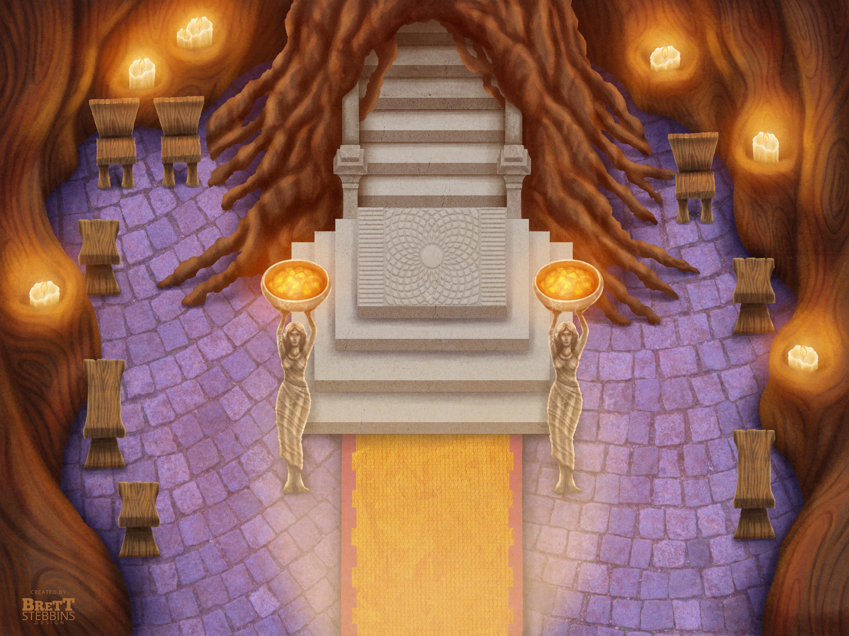 Entrance Concept Art
