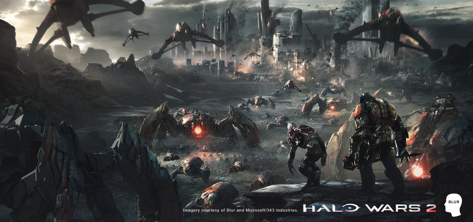 New Halo Wars 2 art piece -