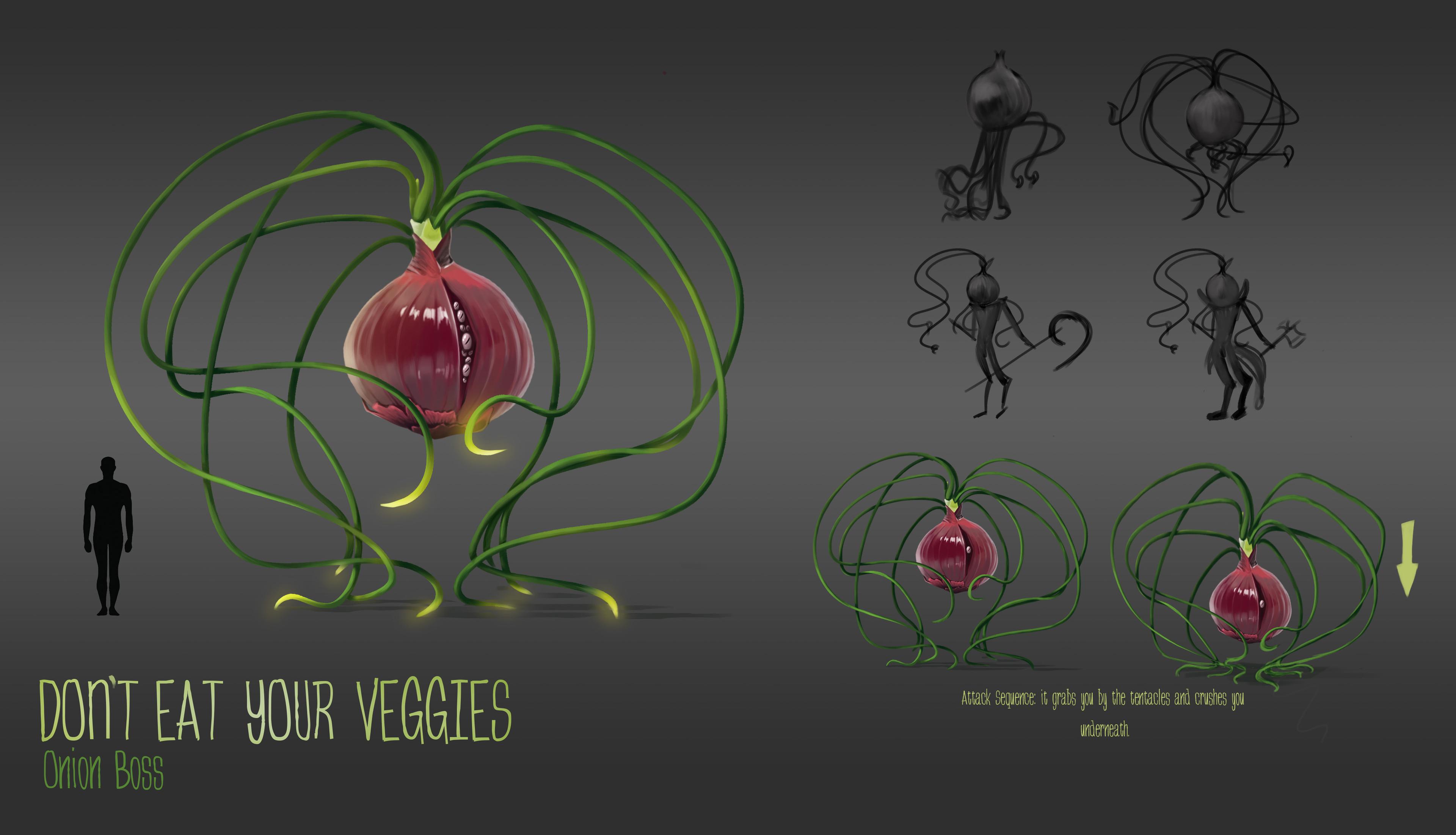 Development on the Onion Boss.