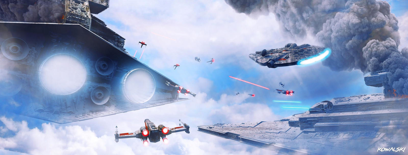Star Wars - Epic space Battle