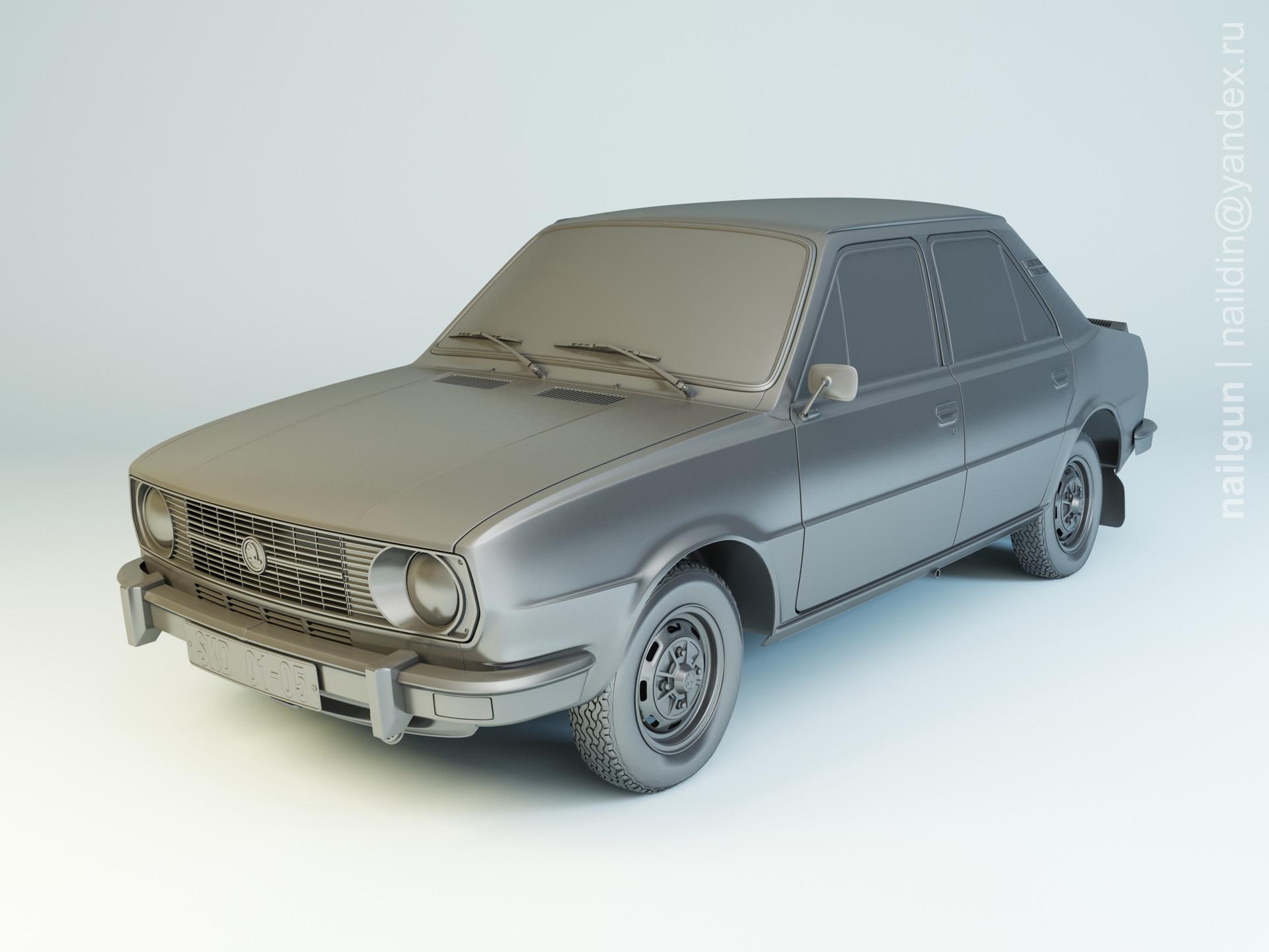 Nail khusnutdinov als 195 002 skoda 105 1980 modelling 0