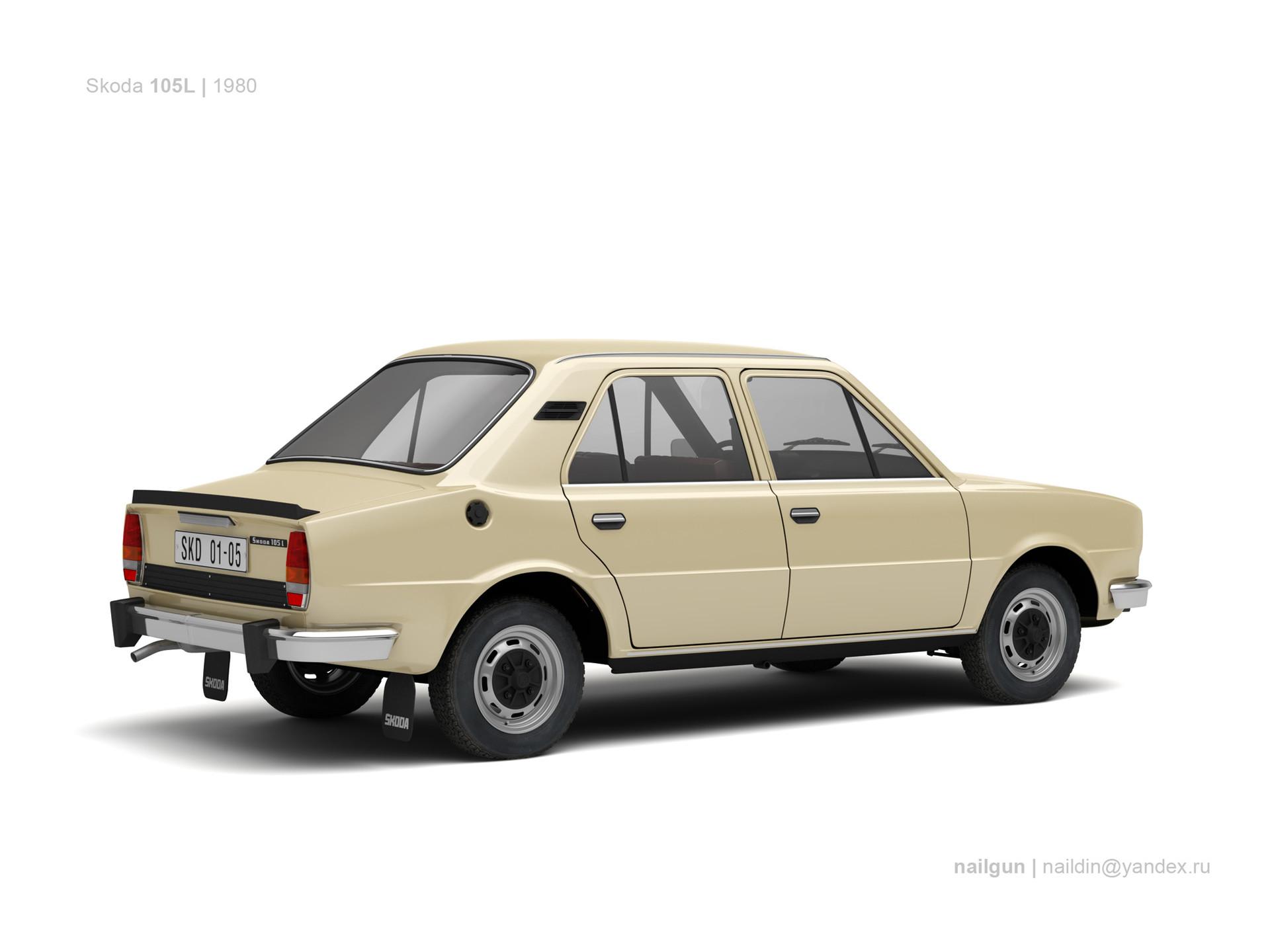 Nail khusnutdinov czechoslovakia skoda 105l 1980 1