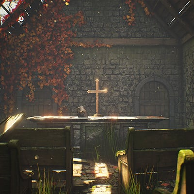 Overgrown Church