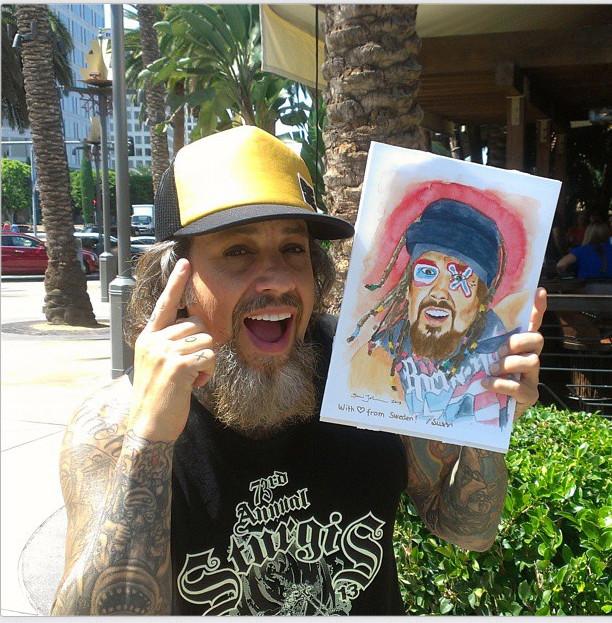 Sussi johansson fieldy with my painting3