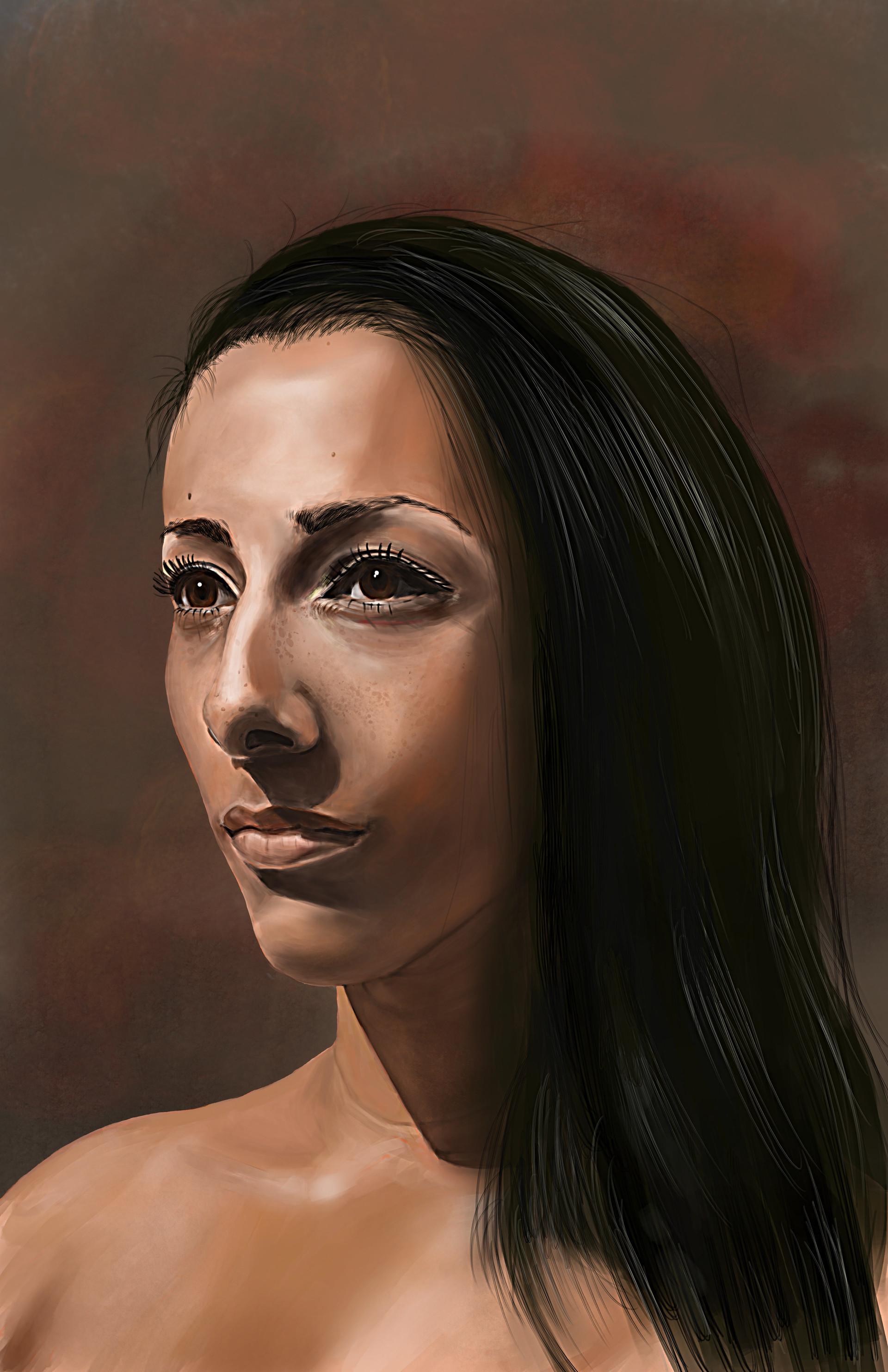 Chris qing qing zhao elements of digital painting portrait study 2