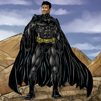 Gustavo melo ilustracao ronan e familia batman low