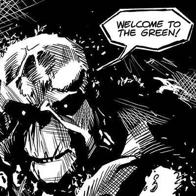 Geraldo borges swamp thing creepy