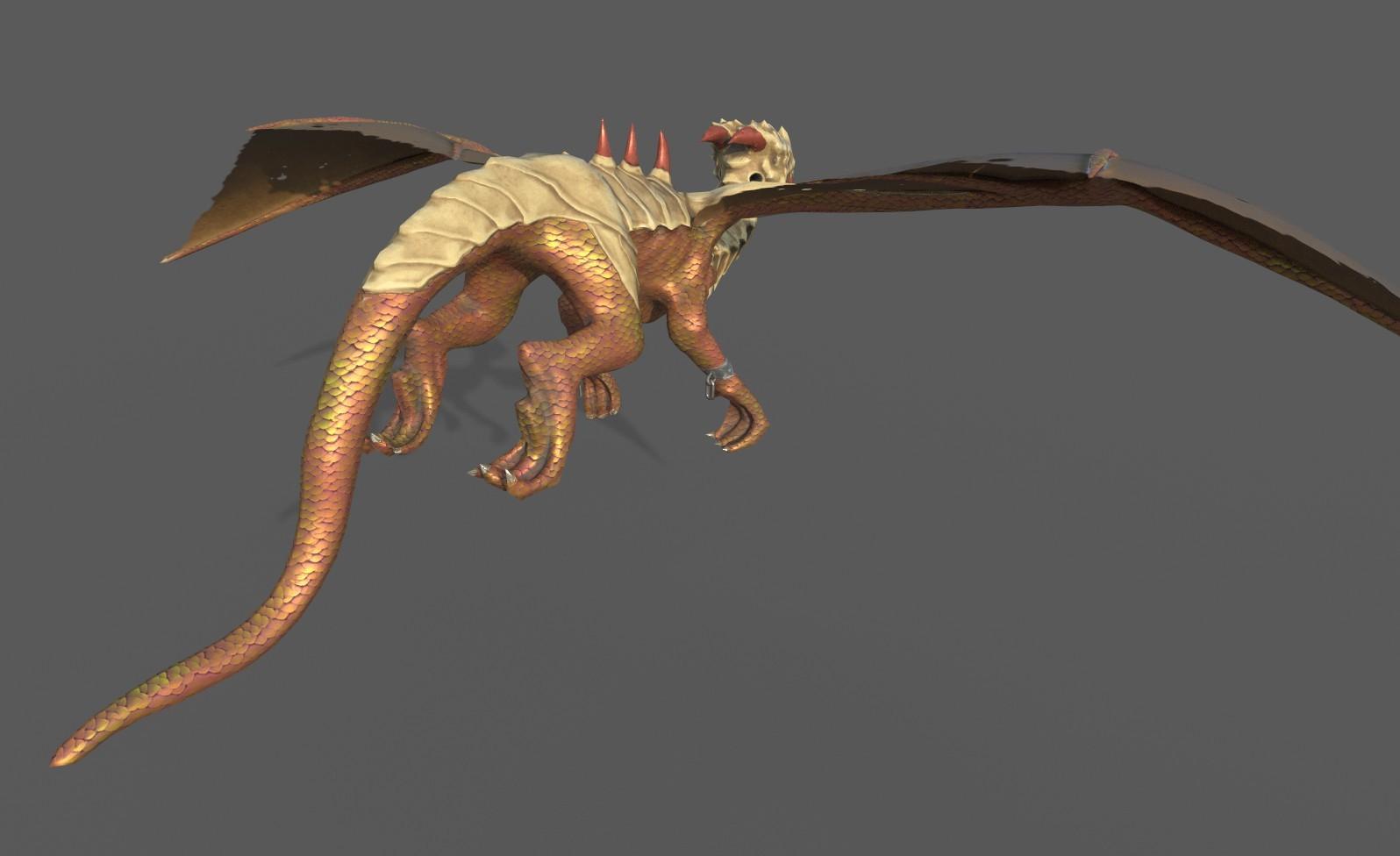 tan tan - dragon skyrim mod