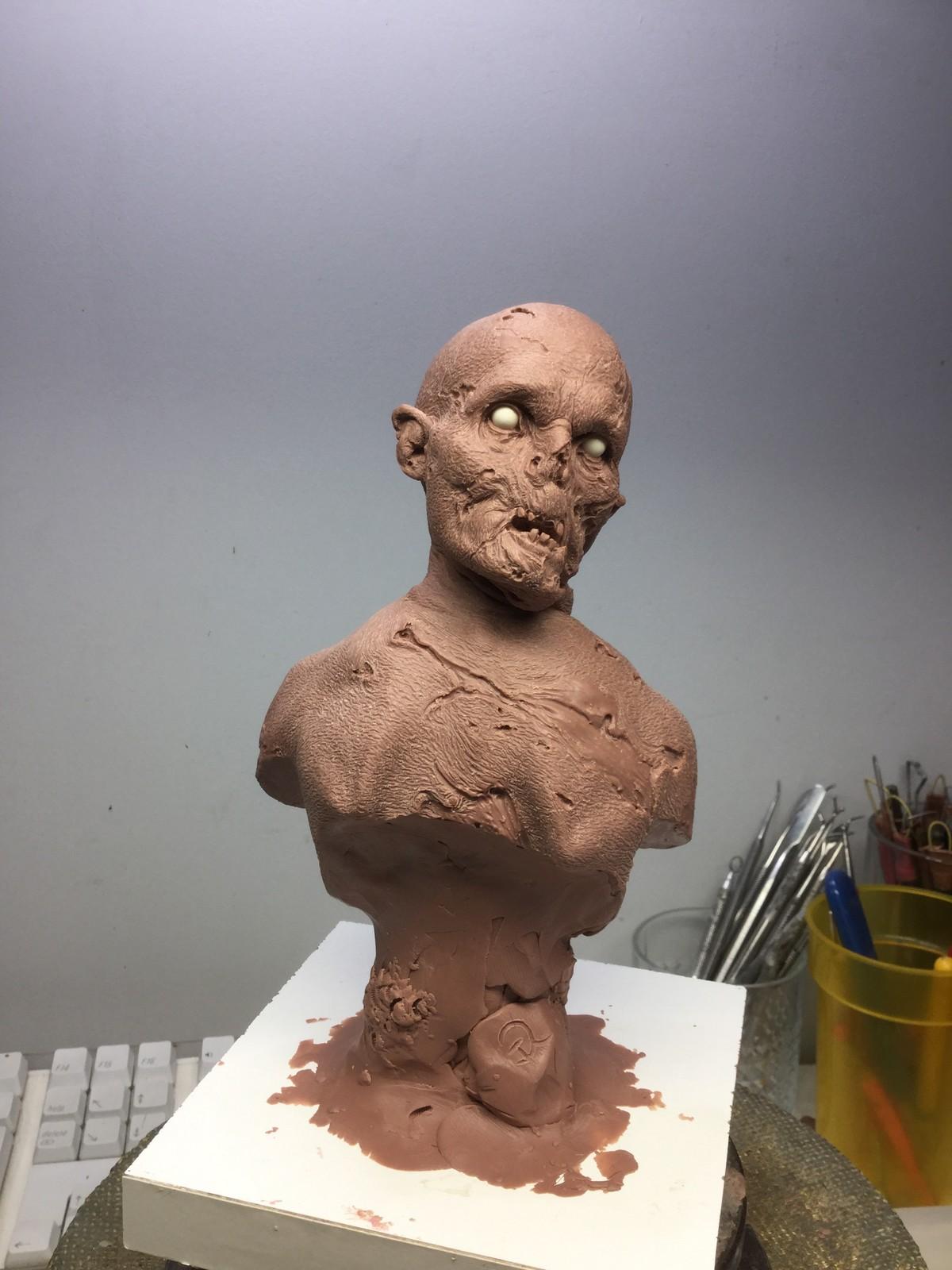 Zombies with broken neck