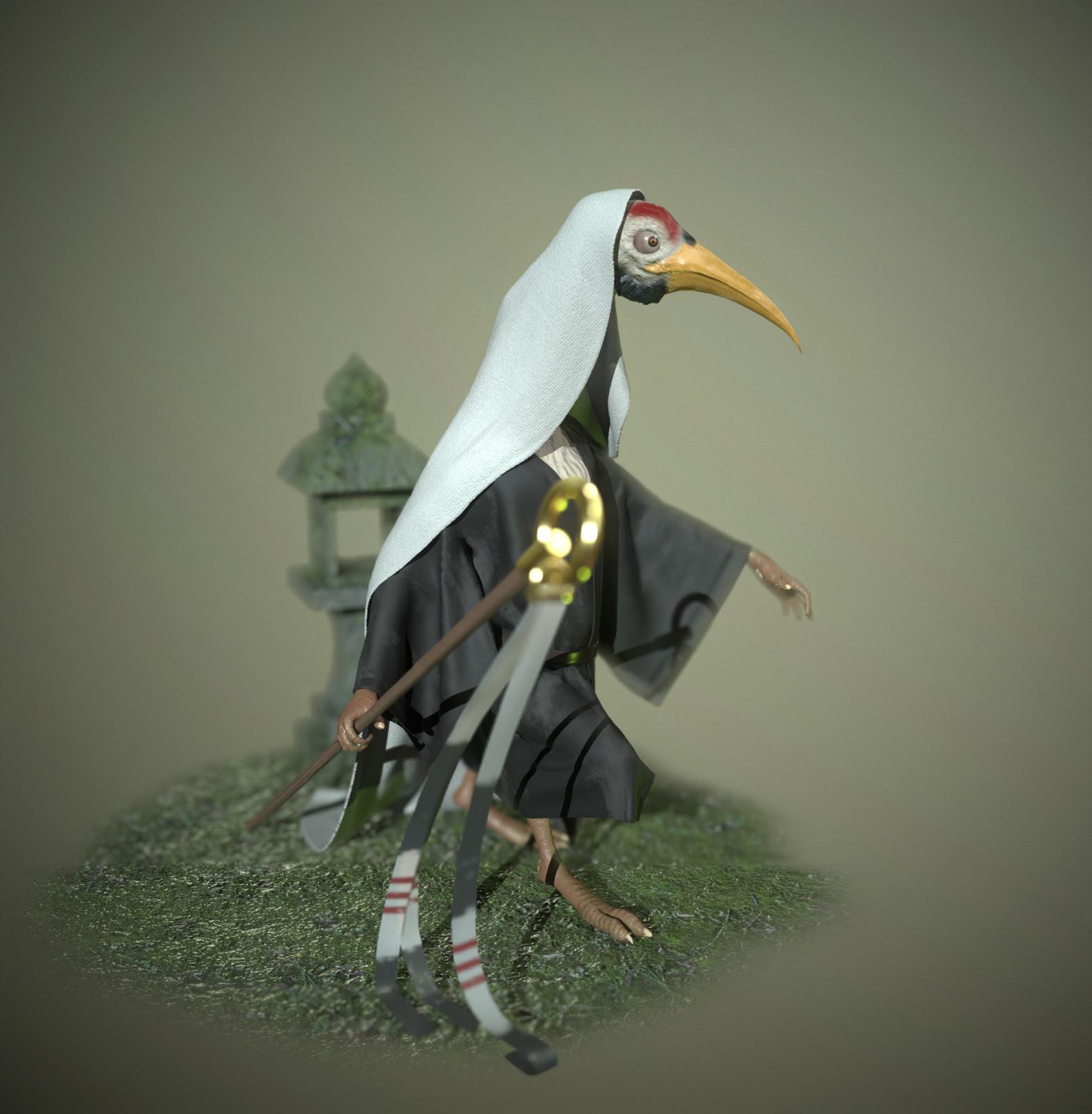 3D model right