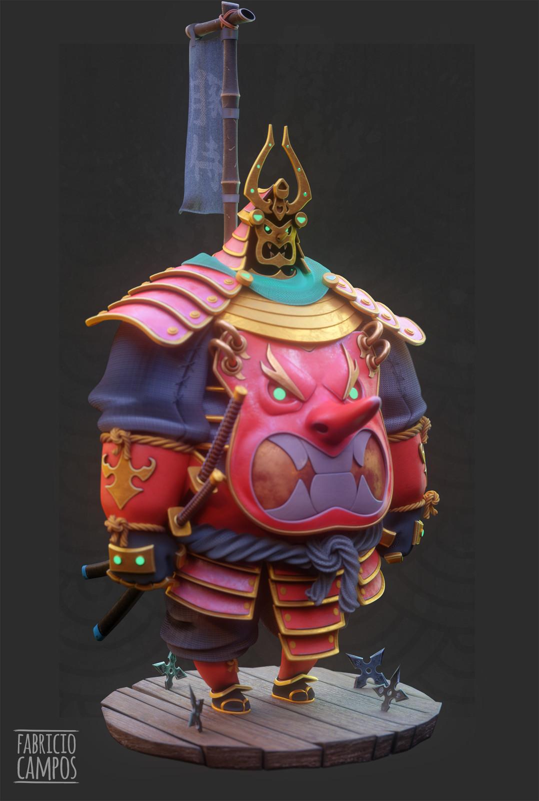 Chubby Samurai