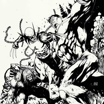 Ace continuado hulk 181 inked copy