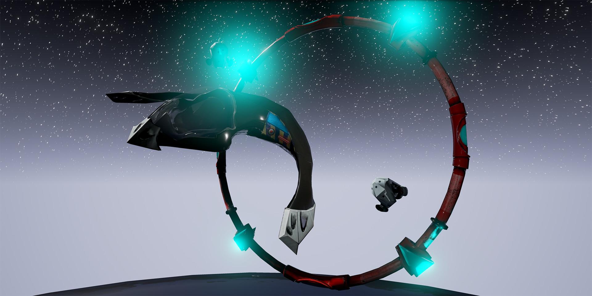 Omar qattan spaceshipscreenshot