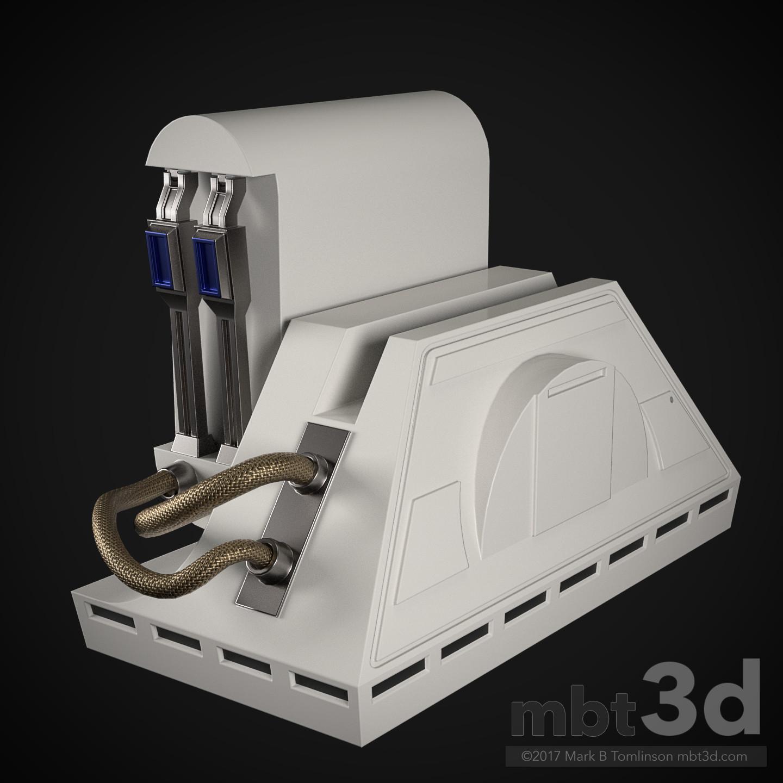 Mark b tomlinson r2 d2 astromech droid 35