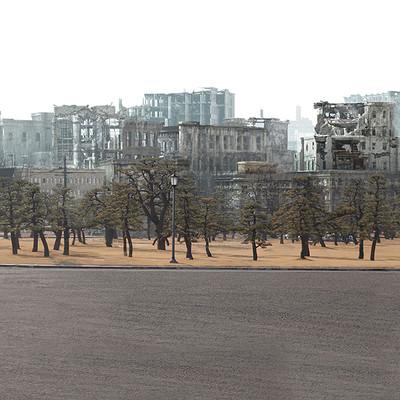 Glenn melenhorst bombed tokyo matte
