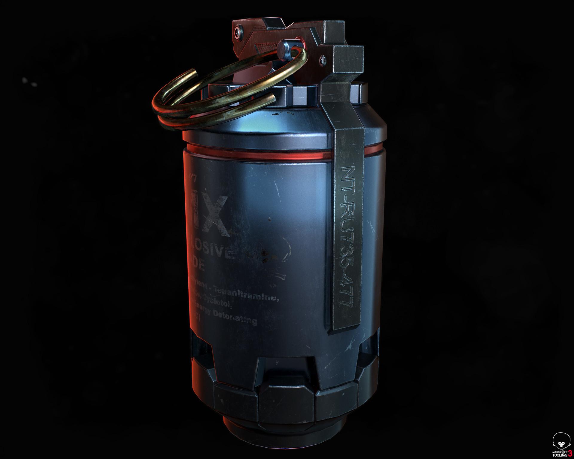 Elkanah tzur hoch hmx grenade 03