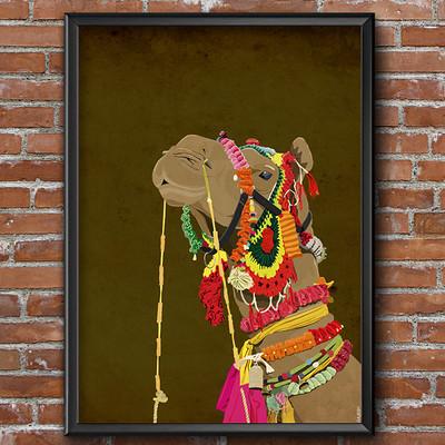 Rajesh sawant camel mockup