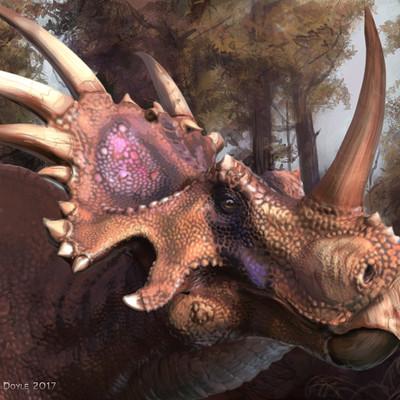 Aaron doyle styracosaurus