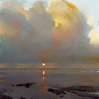 Grzegorz rutkowski clouds study